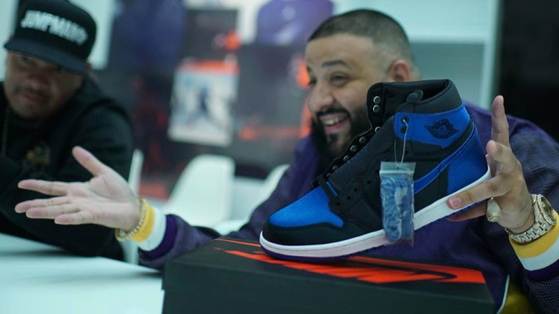 DJ Khaled has the Key to the Michael Jordan Building in Portland