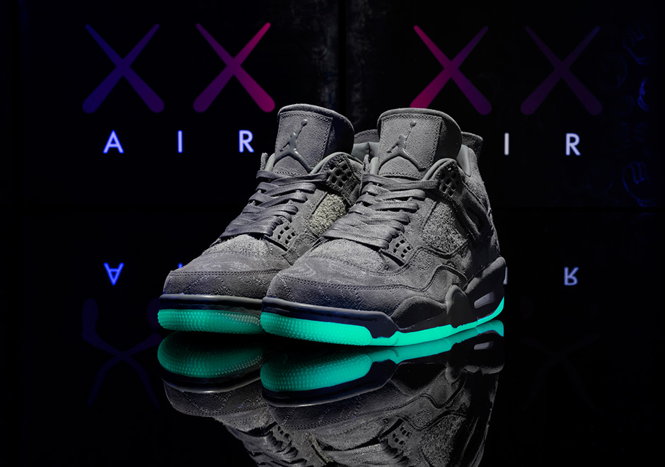 Here's your second chance at scoring a pair of KAWS Jordan 4