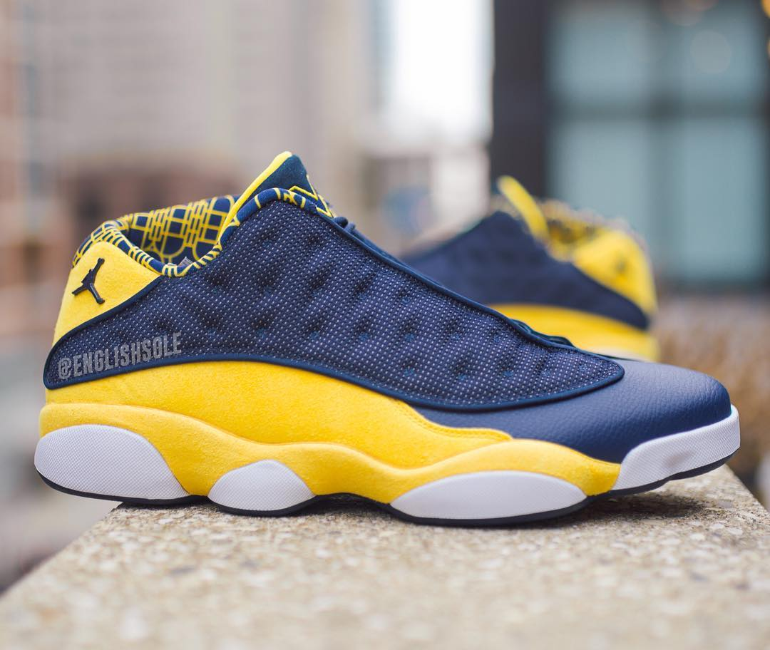 5 Air Jordan 13 Low PE's were made for March Madness