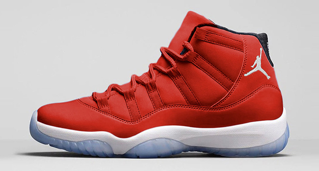 "The Air Jordan 11 ""Gym Red"" gets a release date"