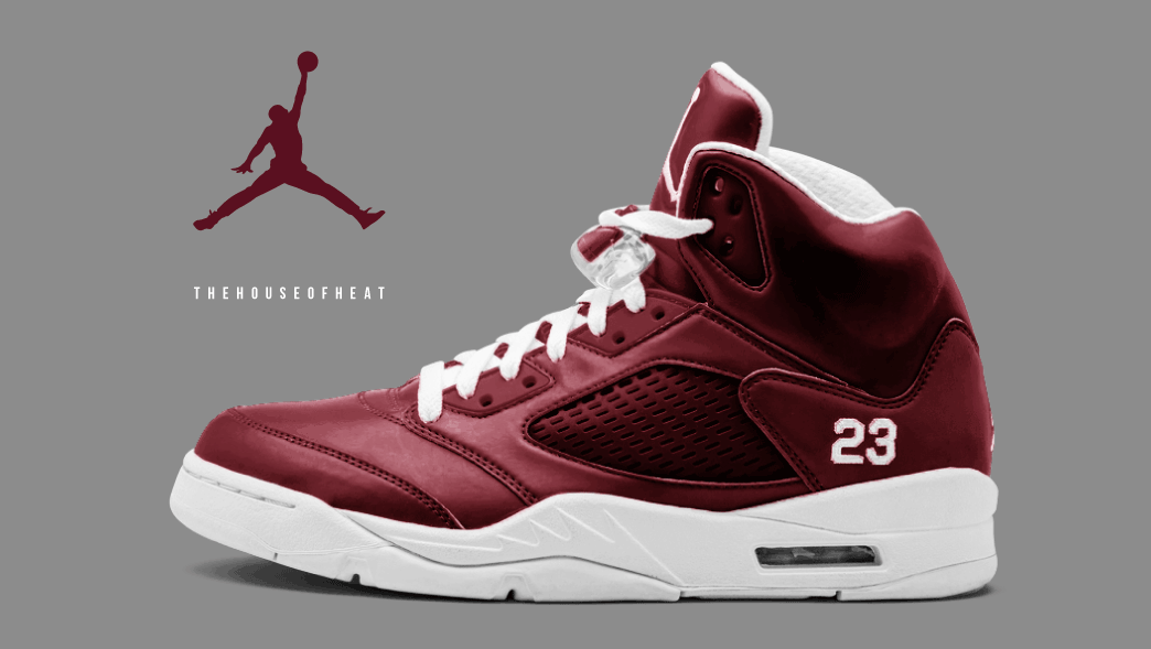 """new style 5263f beec9 The Daily Concept – Air Jordan 5 """"Maroon"""" - HOUSE OF HEAT ..."""