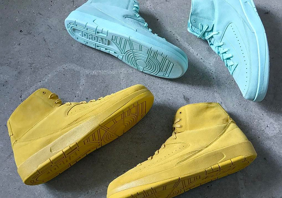 The Air Jordan 2 gets deconstructed for Summer