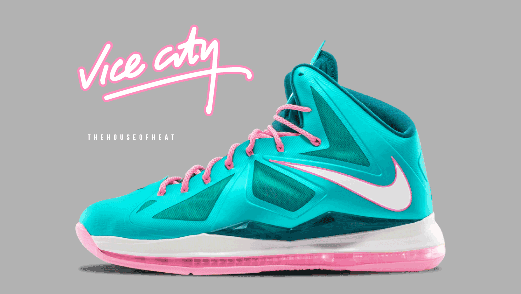 "super popular 59840 efb6d The Daily Concept – LeBron X ""Vice City"""