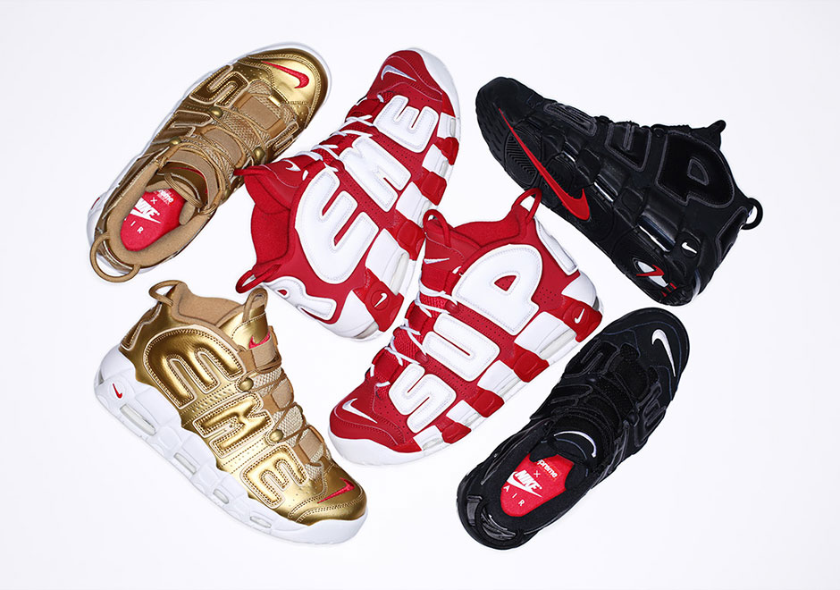 Supreme More Uptempo's to release on Thursday