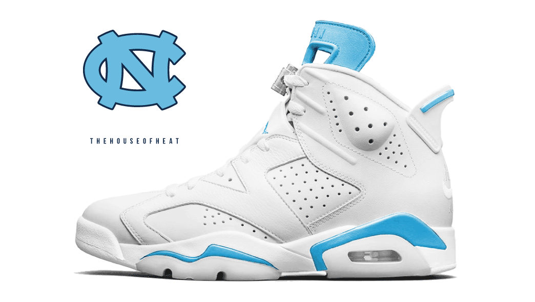 "The Daily Concept – Air Jordan 6 ""Gonzaga"" and ""UNC"""