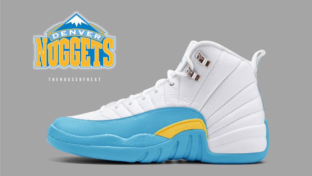"The Daily Concept – Air Jordan 12 ""Nuggets"""