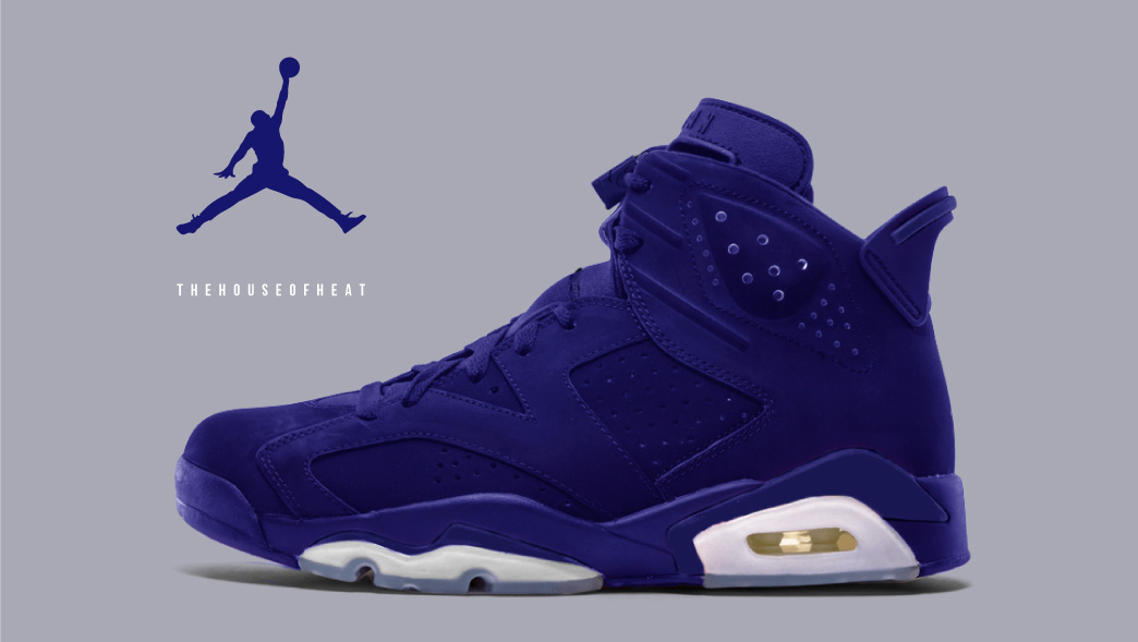 "The Daily Concept – Air Jordan 6 ""Blue Suede"""