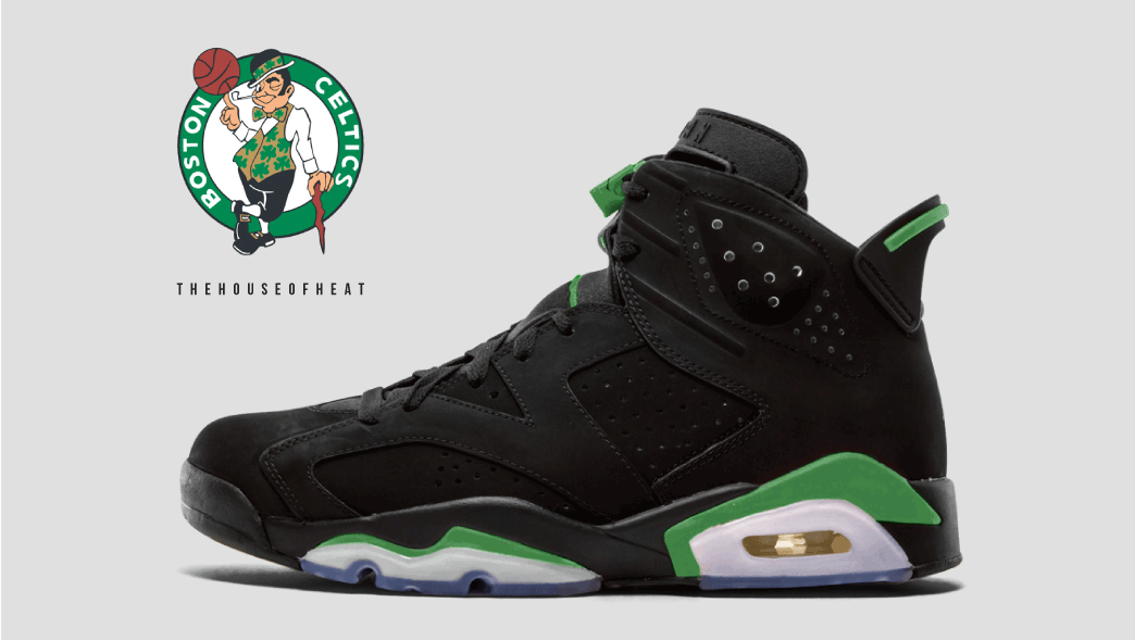 "The Daily Concept – Air Jordan 6 ""Celtics"""