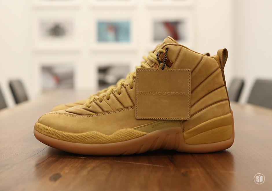 "PSNY are heating up Summer with the Air Jordan 12 ""Wheat"""