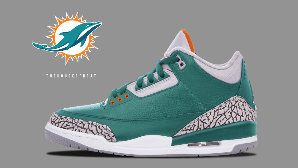 "The Daily Concept – Air Jordan 3 ""Dolphins"""