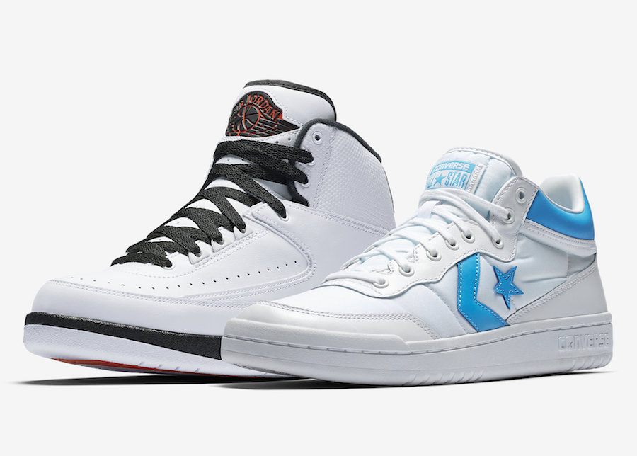 An official look at the Jordan x Converse Pack