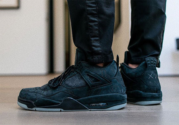 The Family and Friends KAWS Jordan 4 is Black