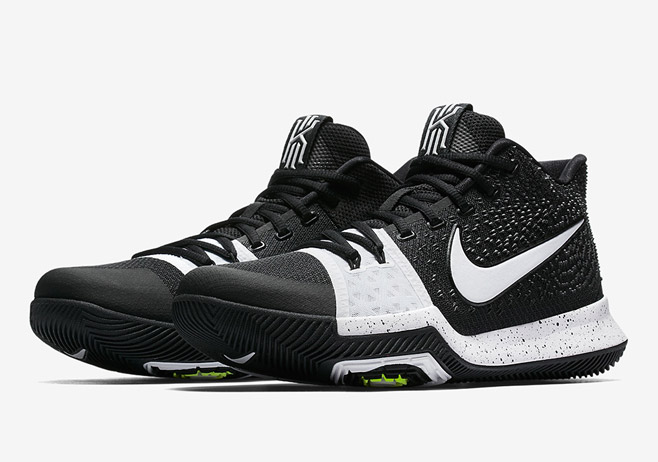 Another Black and White colorway for Kyrie