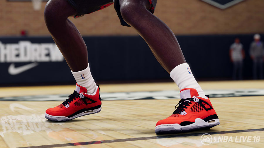 Here's a look at the kicks from NBA Live 18