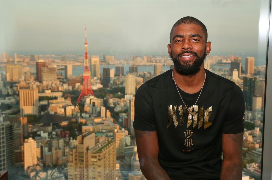 Kyrie and Nike head to Asia