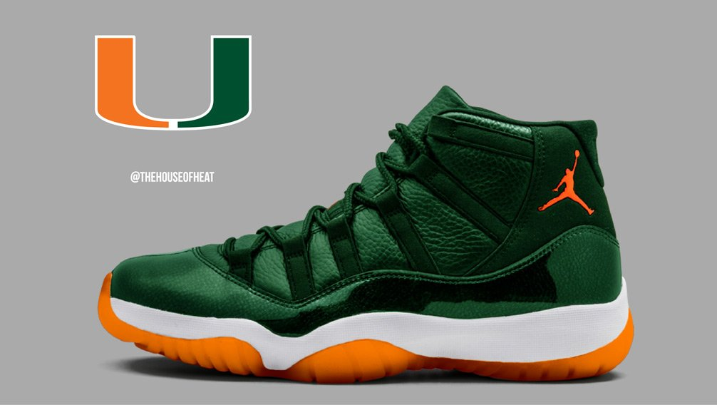 "Today's Concept : Air Jordan 11 ""Hurricanes"""