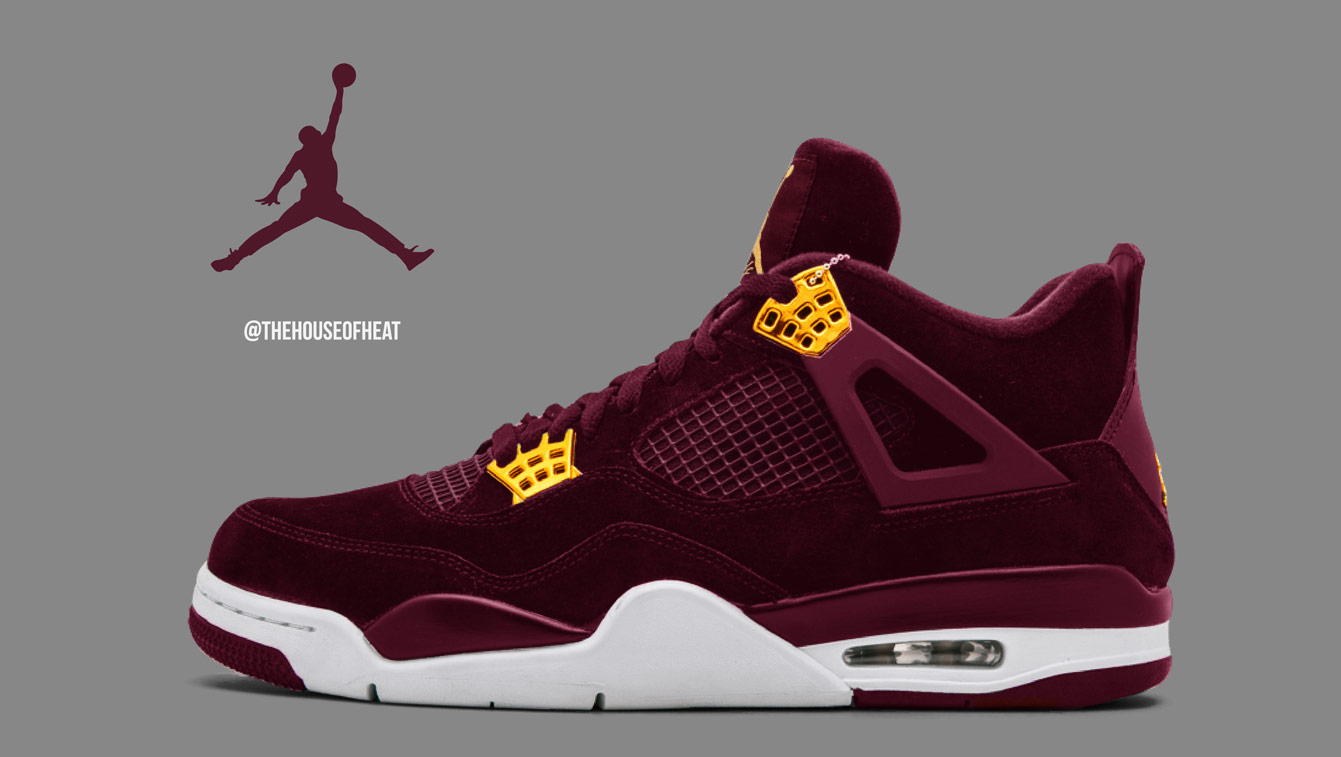 "Today's Concept : Air Jordan 4 ""Heiress"""