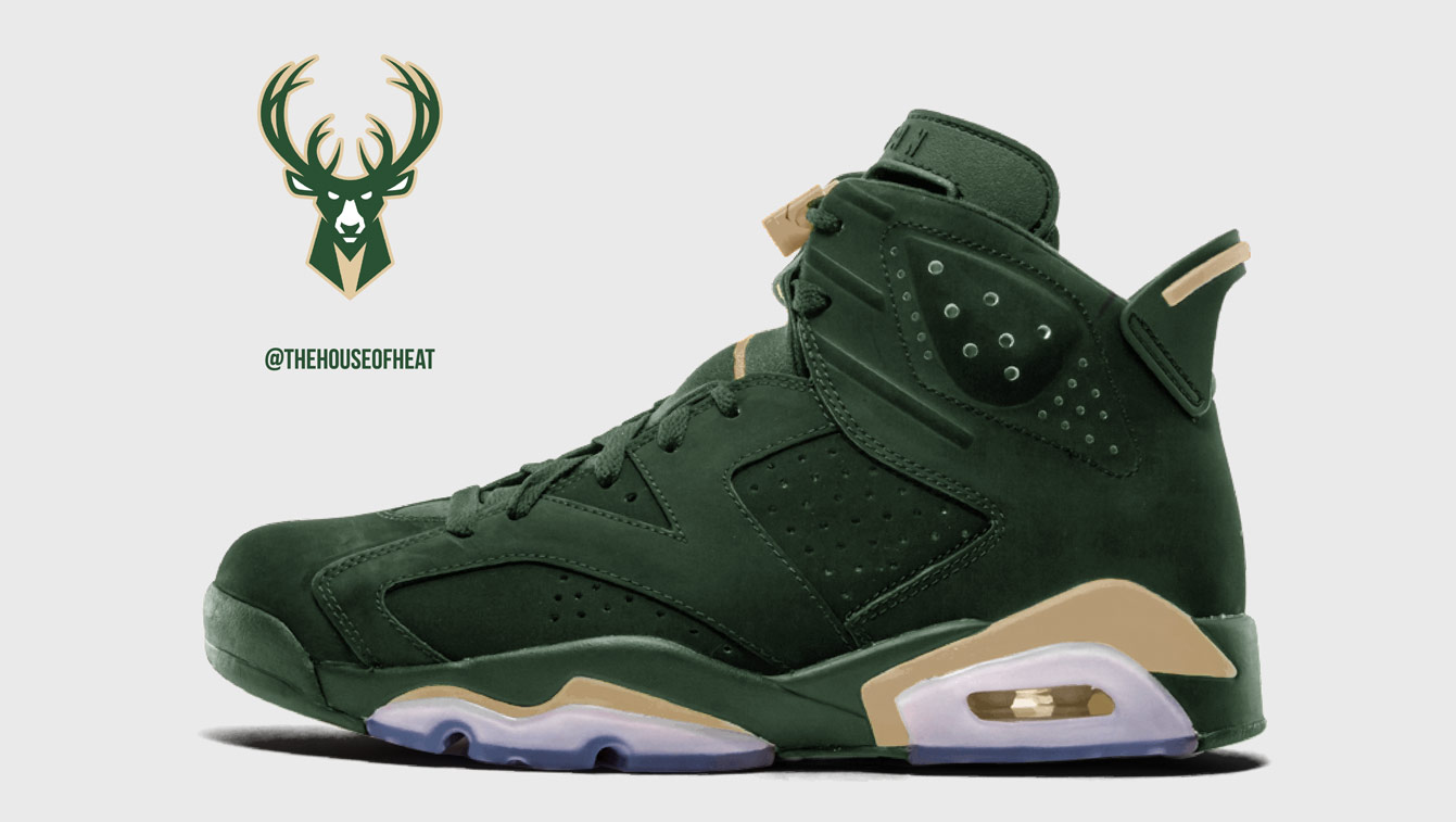 "The Daily Concept – Air Jordan 6 ""Bucks"""