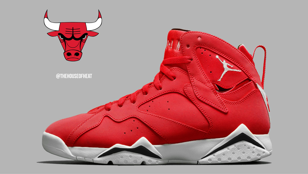 "Today's Concept : Air Jordan 7 ""Toro"""