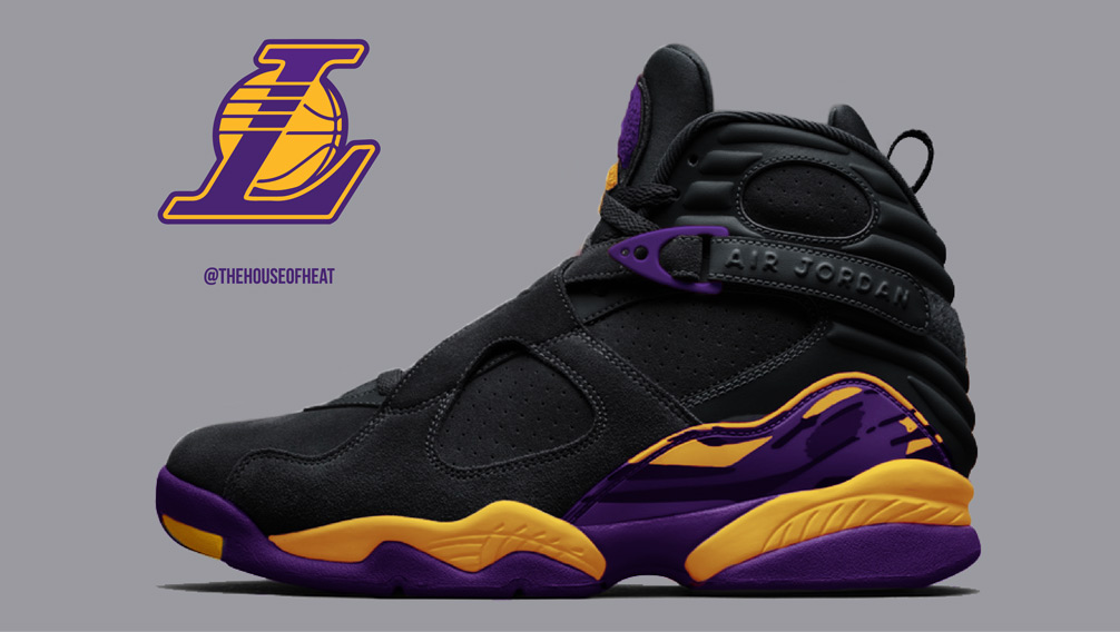 "Today's Concept : Air Jordan 8 ""Lakers Alternate"""