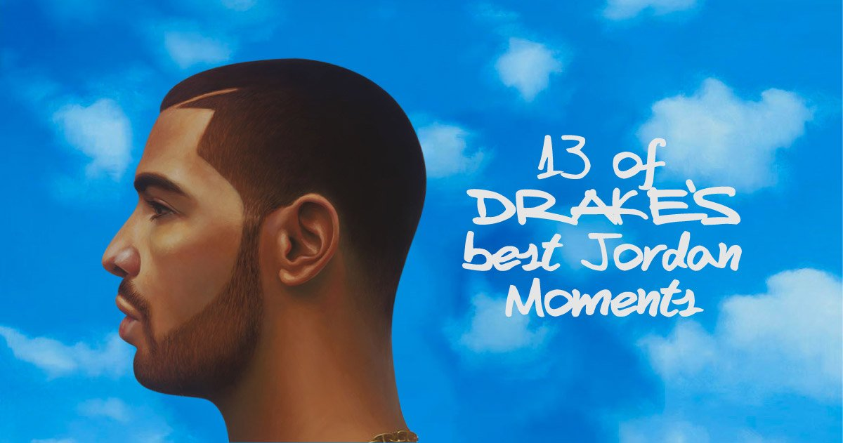 13 of Drake's Best Jordan Moments