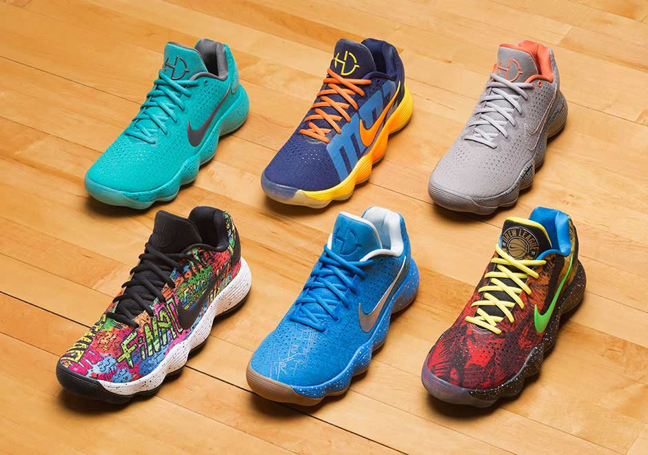 Nike Basketball celebrates six notorious basketball cities with this Hyperdunk Low pack