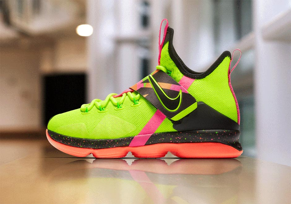 cd2e7eb8004 Three WWE legends inspired these LeBron 14 s - HOUSE OF HEAT ...