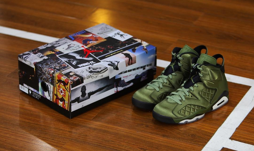 Here's your best look yet at the SNL Air Jordan 6