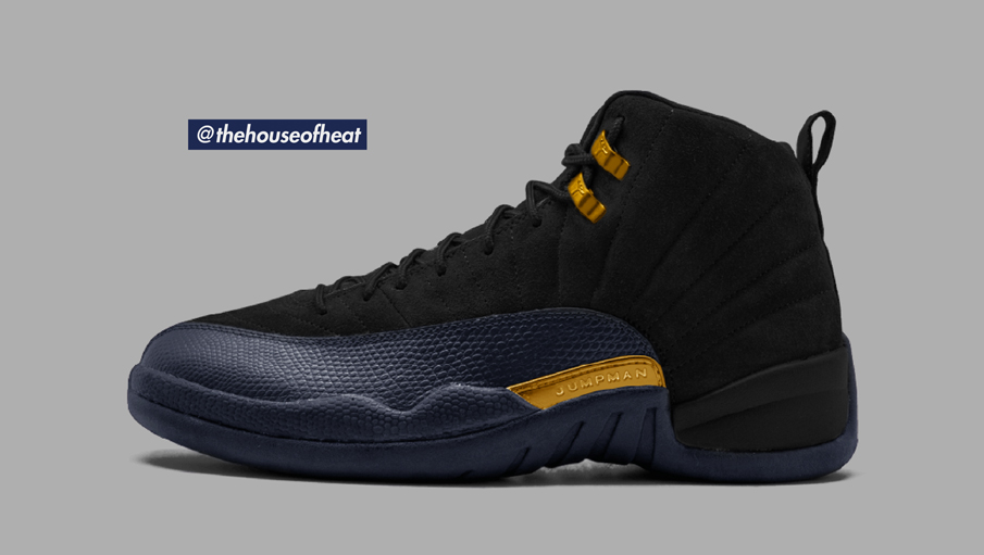 "Today's Concept : Air Jordan 12 ""Night Star"""