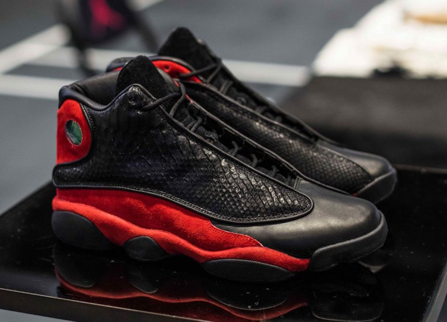 The Shoe Surgeon got the OK from Jordan to rebuild the Bred 13