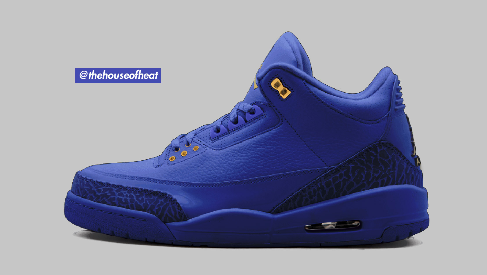 "Today's Concept : Air Jordan 3 ""Royal Blue"""