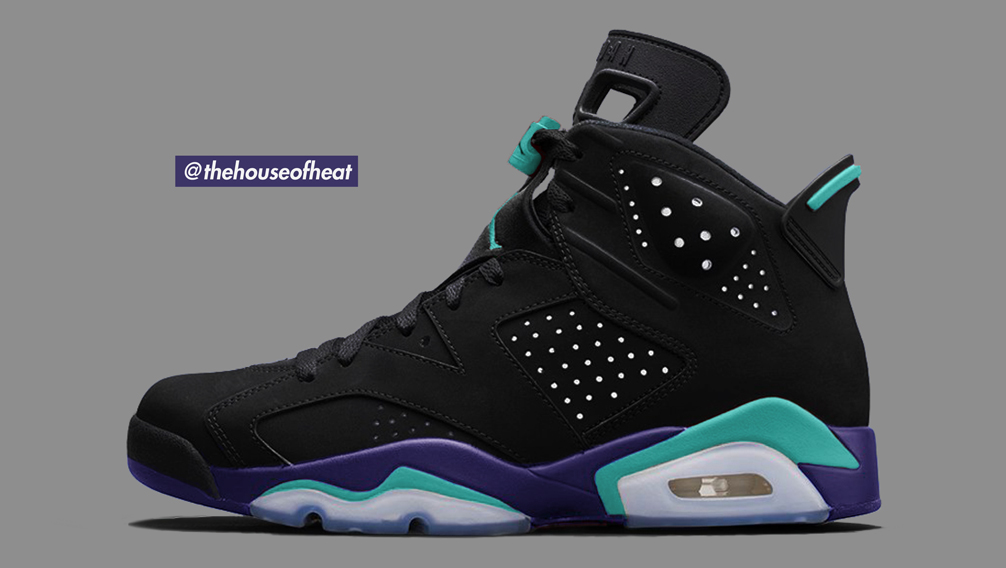 "Today's Concept : Air Jordan 6 ""Black Grape"""