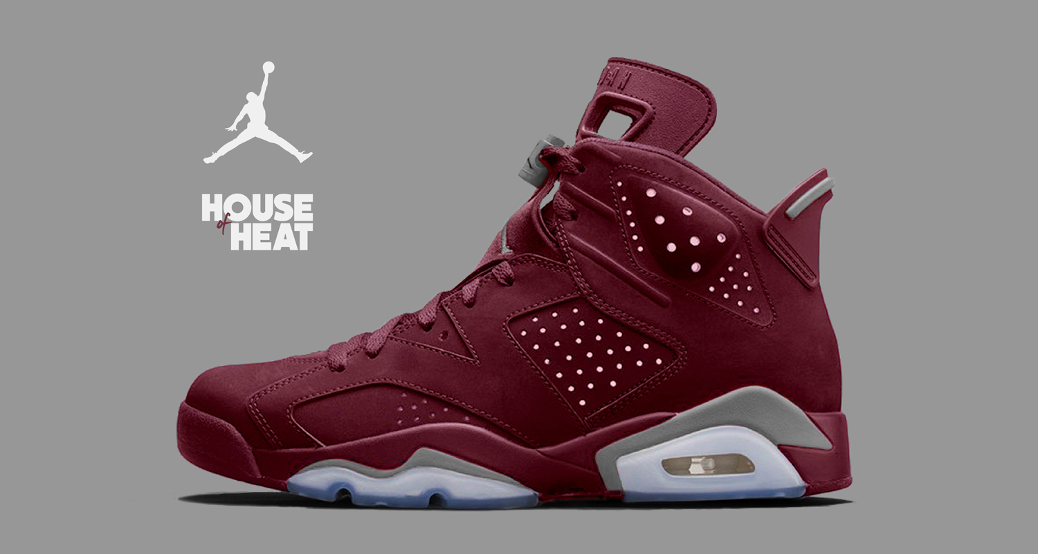 "The Concept Lab : Air Jordan 6 ""Burgundy"""