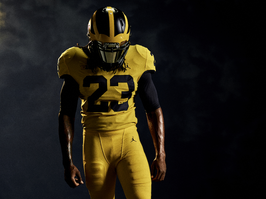 e9b5b57ff183 Jordan Brand unveil 150th anniversary Michigan Football uniforms ...