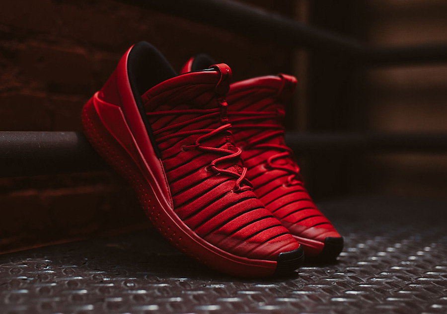 "The ""Gym Red"" Flight Luxe is available now"