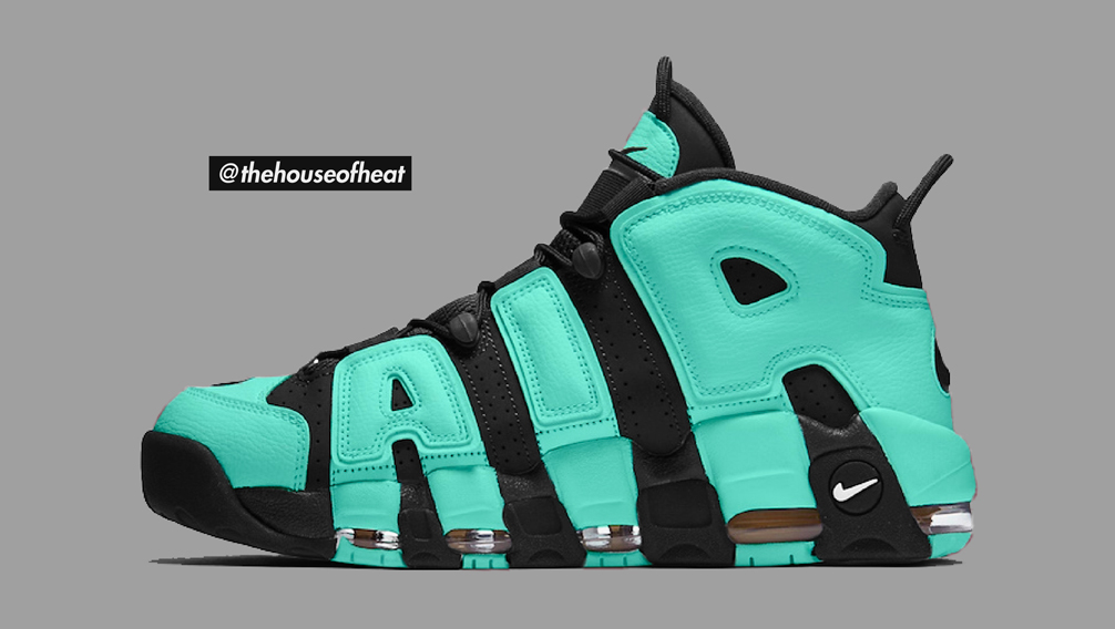 "Today's Concept : Nike Air More Uptempo ""Tiffany"""