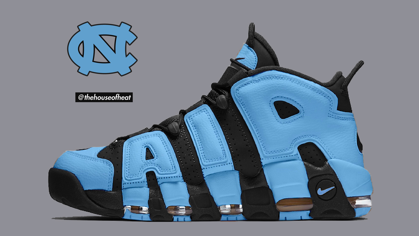 "Today's Concept : Nike Air More Uptempo ""UNC"""