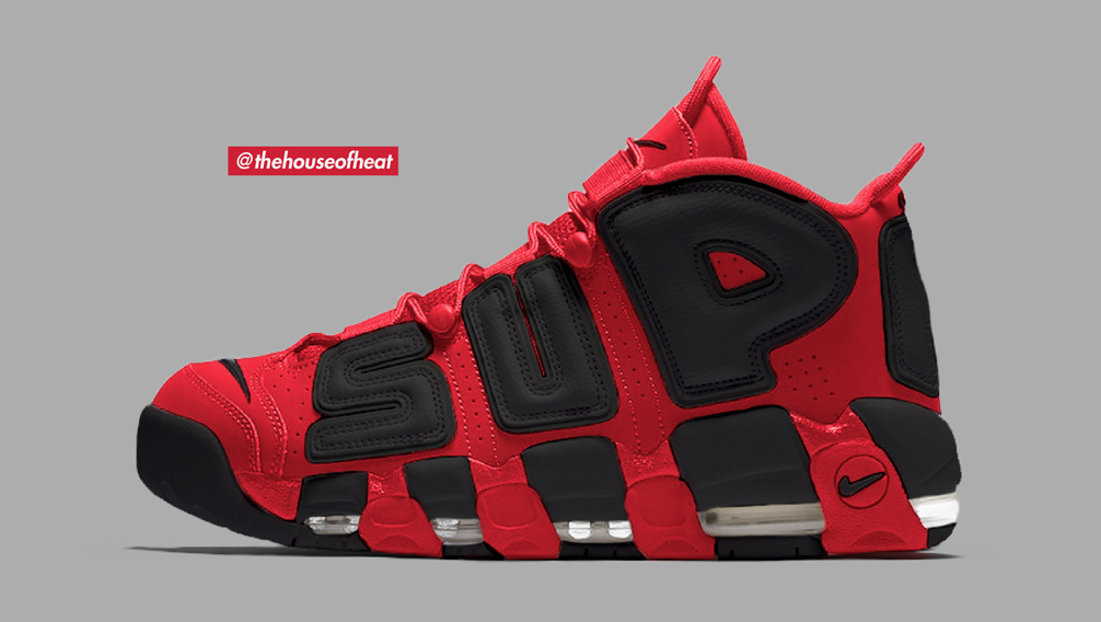 Ingiustizia Dire la verità gooey  Today's Concept : Nike Air More Uptempo x Supreme