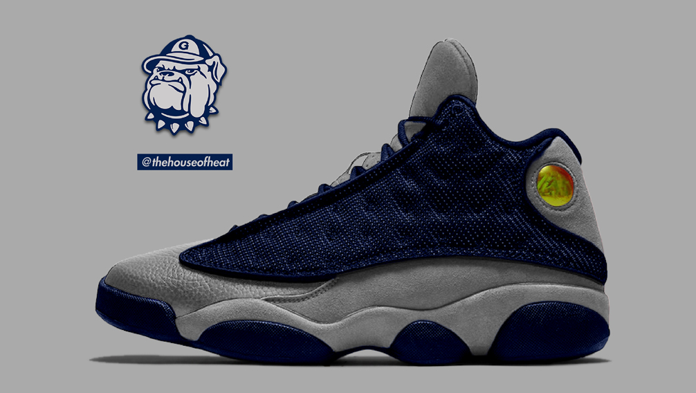 "Today's Concept : Air Jordan 13 ""Hoyas"""