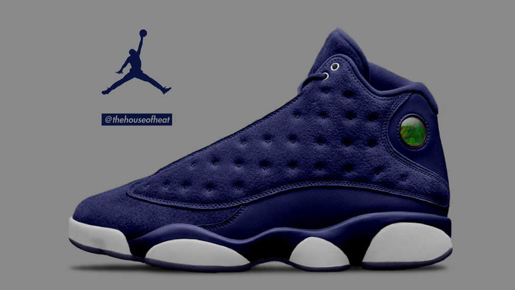 "Today's Concept : Air Jordan 13 ""Midnight Navy"""