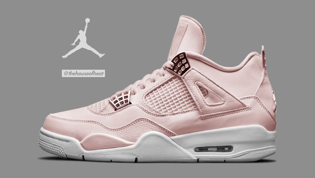 "Today's Concept : Air Jordan 4 ""Rose Gold"""