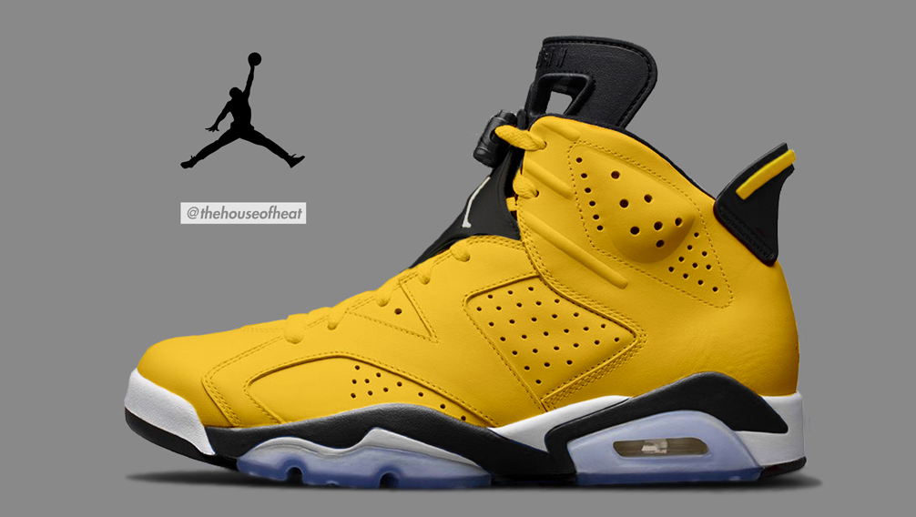 "Today's Concept : Air Jordan 6 ""Lightning"""