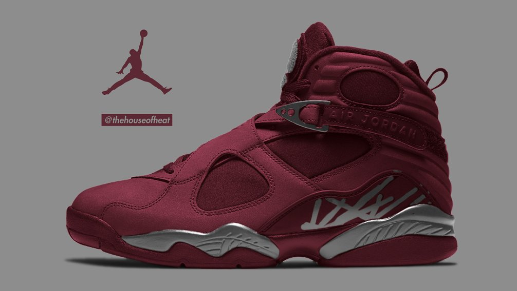 "Today's Concept : Air Jordan 8 ""Burgundy"""