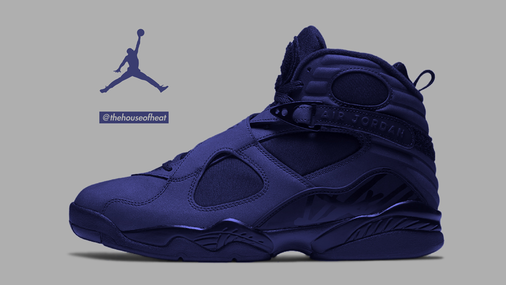 "Today's Concept : Air Jordan 8 ""Triple Navy"""