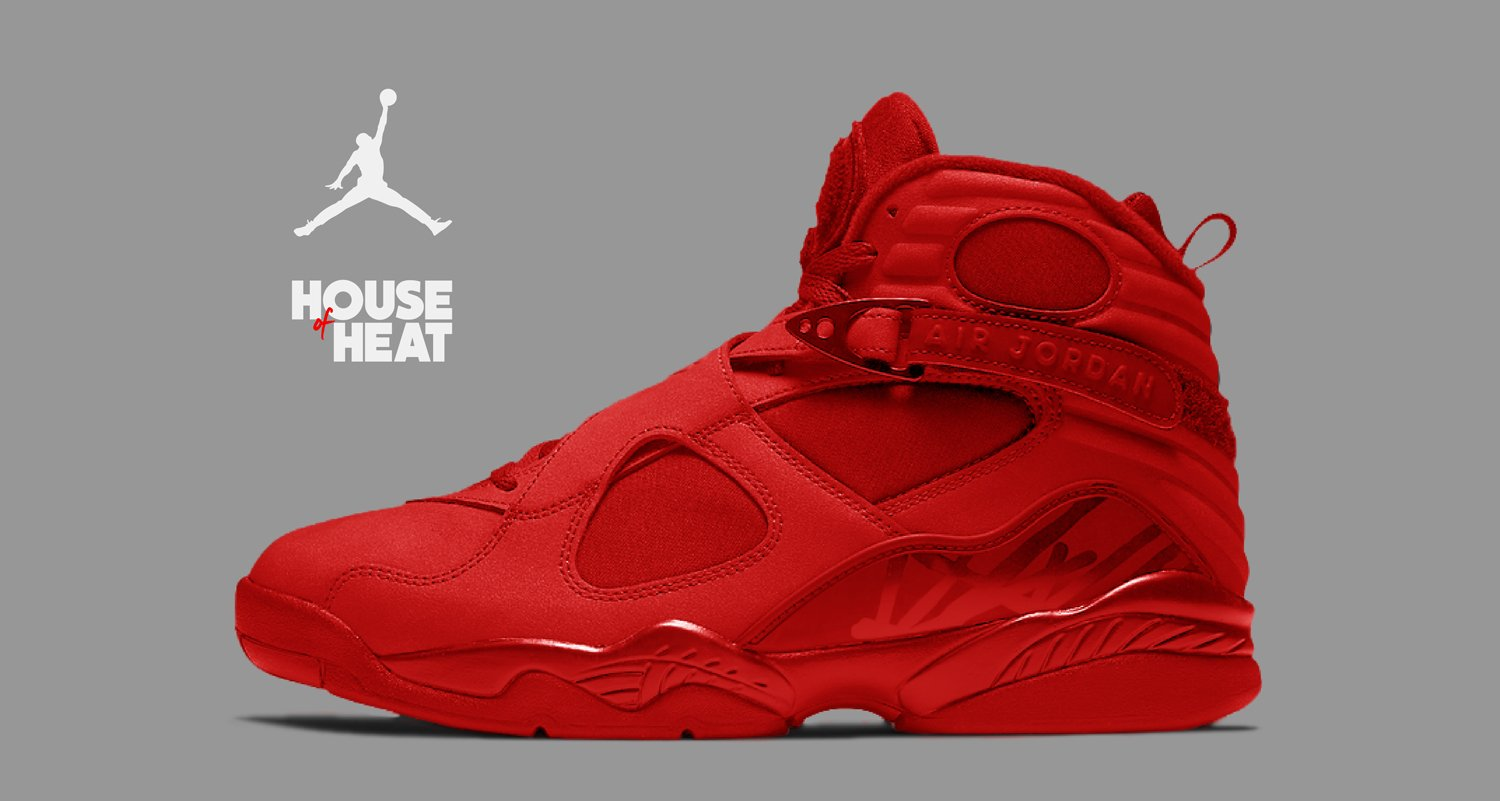 "The Concept Lab : Air Jordan 8 ""Triple Red"""
