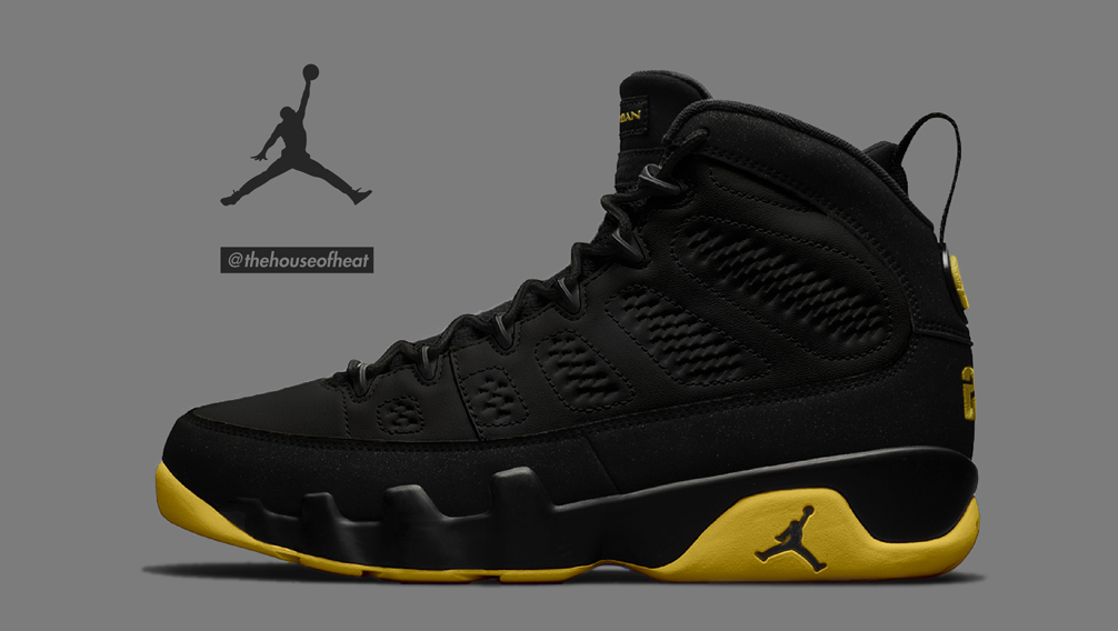 "Today's Concept : Air Jordan 9 ""Thunder"""