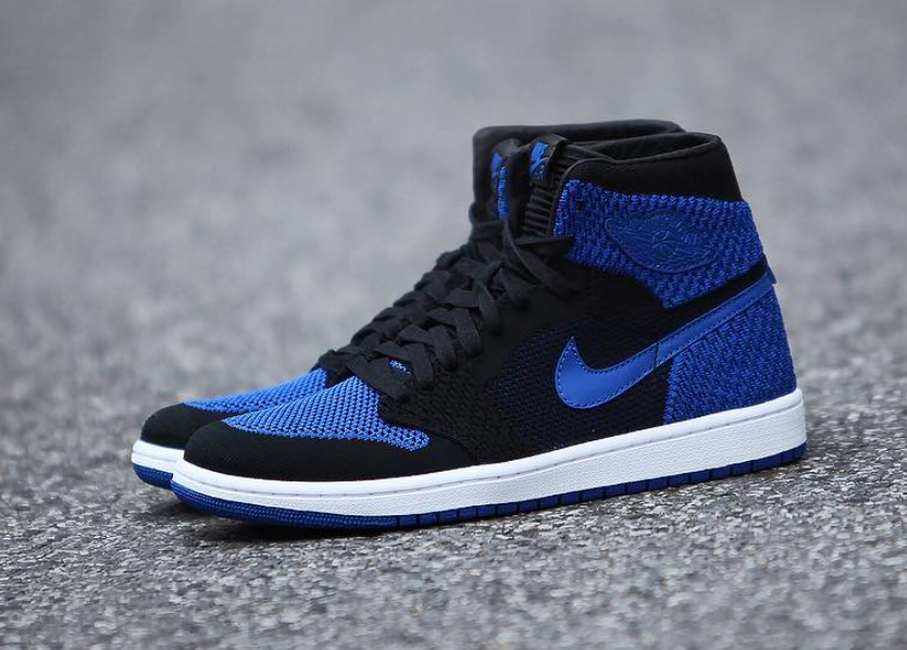 "Official images: Air Jordan 1 Flyknit ""Royal"""