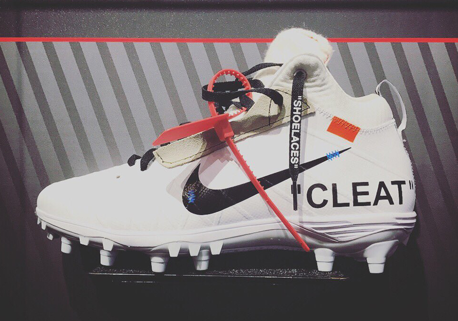 Mache imagines an Off-White x Nike cleat