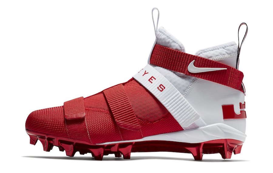Peep these Ohio State Soldier 11 PE Cleats