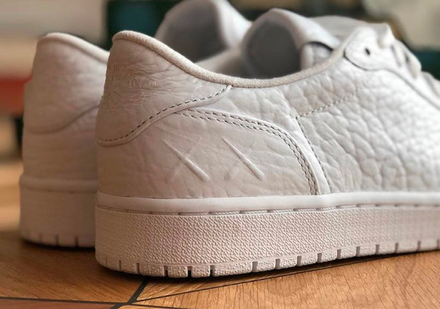 KAWS gets a special custom pair of Air Jordan 1 Lows